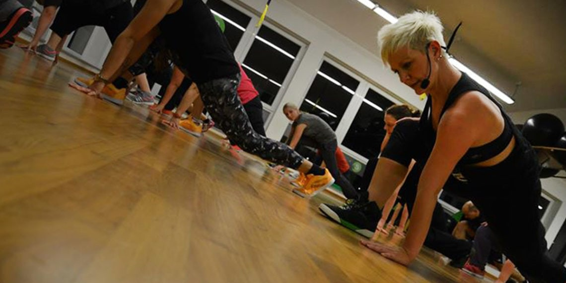 Fitnesskurs in Action