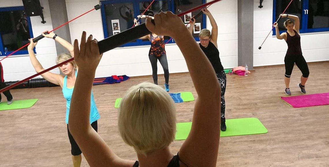 Fitnesskurs mit Flexibar