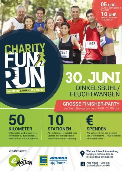 Charity Fun Run Dinkelsbühl/Feuchtwangen